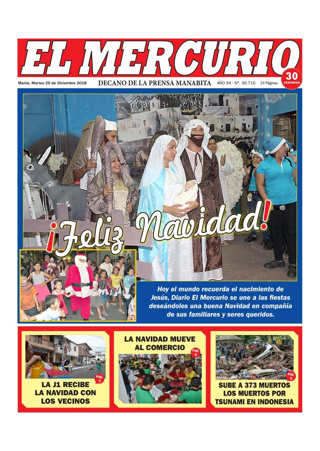 b09c5a2a5c38 MARTES 25 DE DICIEMBRE DE 2018 by Diario El mercurio - issuu