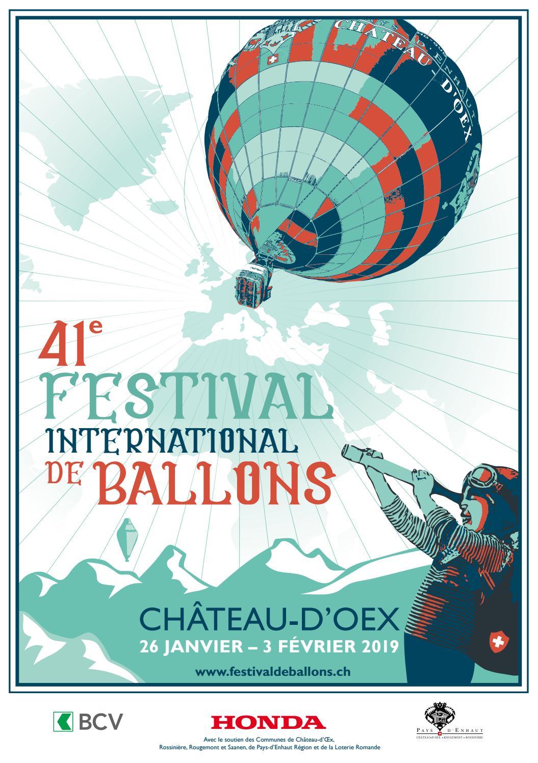 Programme Festival de Ballons 2019 by Région du Léman, Lake Geneva Region,  Genferseegebiet - issuu e2eff677c77d