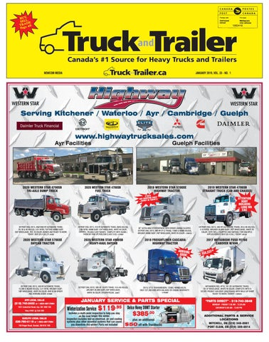 Truck and Trailer January 2019 by Annex Business Media - issuu