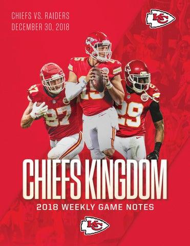 Regular Season Game 16 - Chiefs vs. Raiders (12-30-18) by Kansas ... fee7b3851