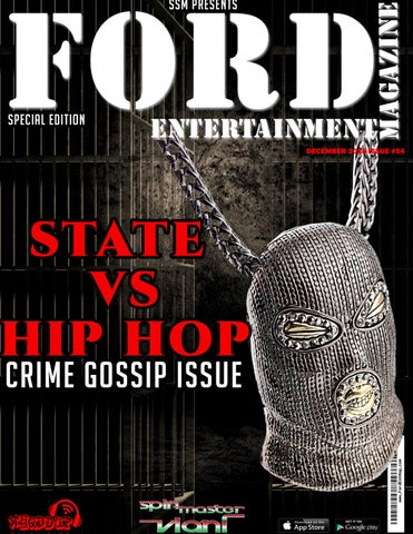 Issue 54- Crime Gossip Issue #StatesHiphop by Ford