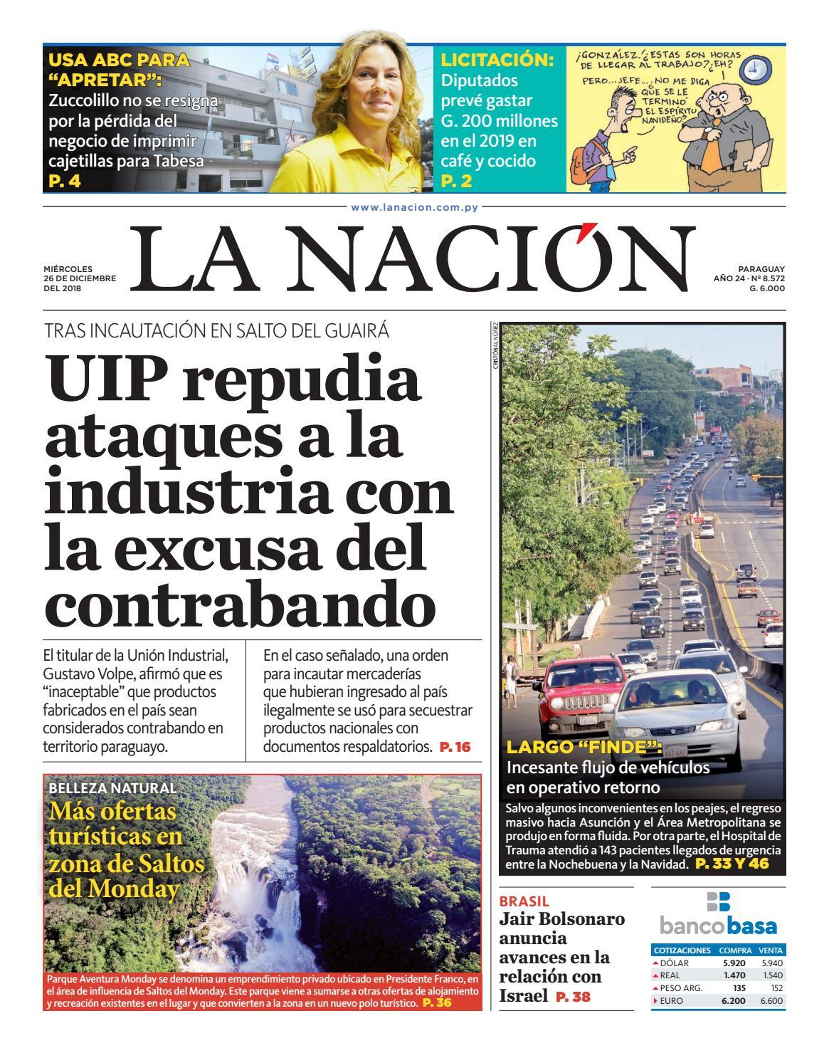 DIARIO LA NACIÓN - EDICIÓN - 8.572 by La Nación - issuu cd2b29703c45