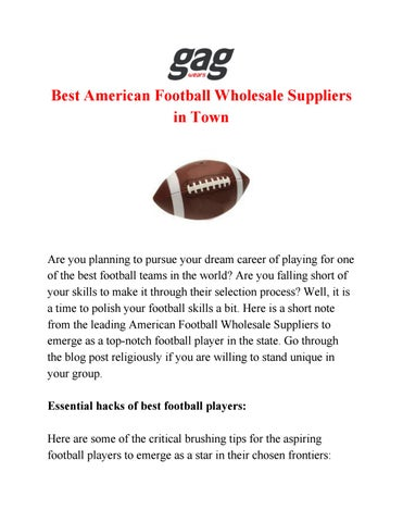 purchase cheap 2d513 176da American Football Wholesale Suppliers | Best American ...