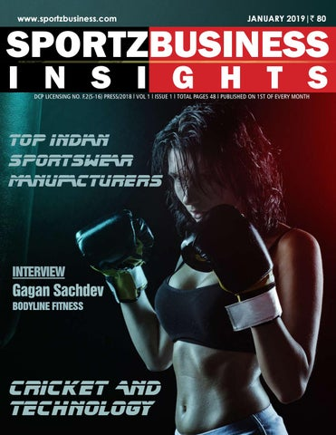 bfa1cc021 Sportz Business Insights Magazine, January 2019 by SportzBusiness ...