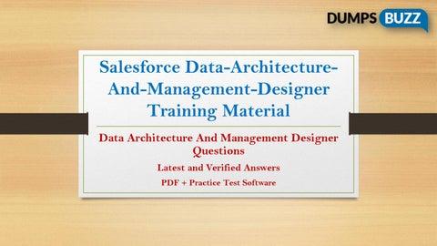 Data-Architecture-And-Management-Designer test questions VCE