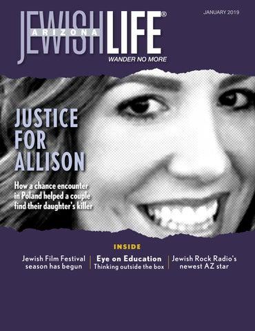 Arizona Jewish Life January 2019 Vol 7issue 3 By