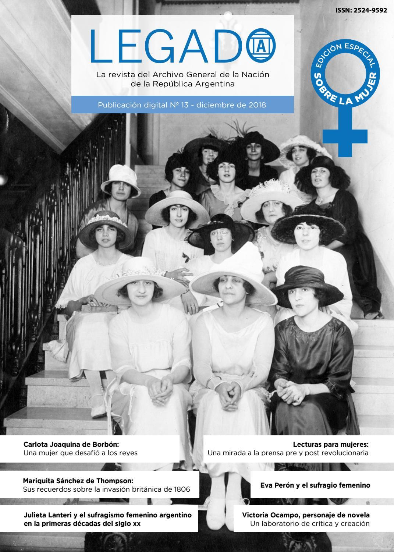 88f6ec6077 Legado 13 by Legado: La revista del AGN, Argentina - issuu