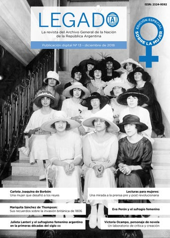 05dc1a3bf Legado 13 by Legado  La revista del AGN