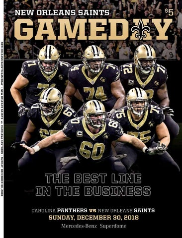 NEW ORLEANS SAINTS GAMEDAY • NEW ORLEANS SAINTS vs CAROLINA PANTHERS •  SUNday 32f4352ee