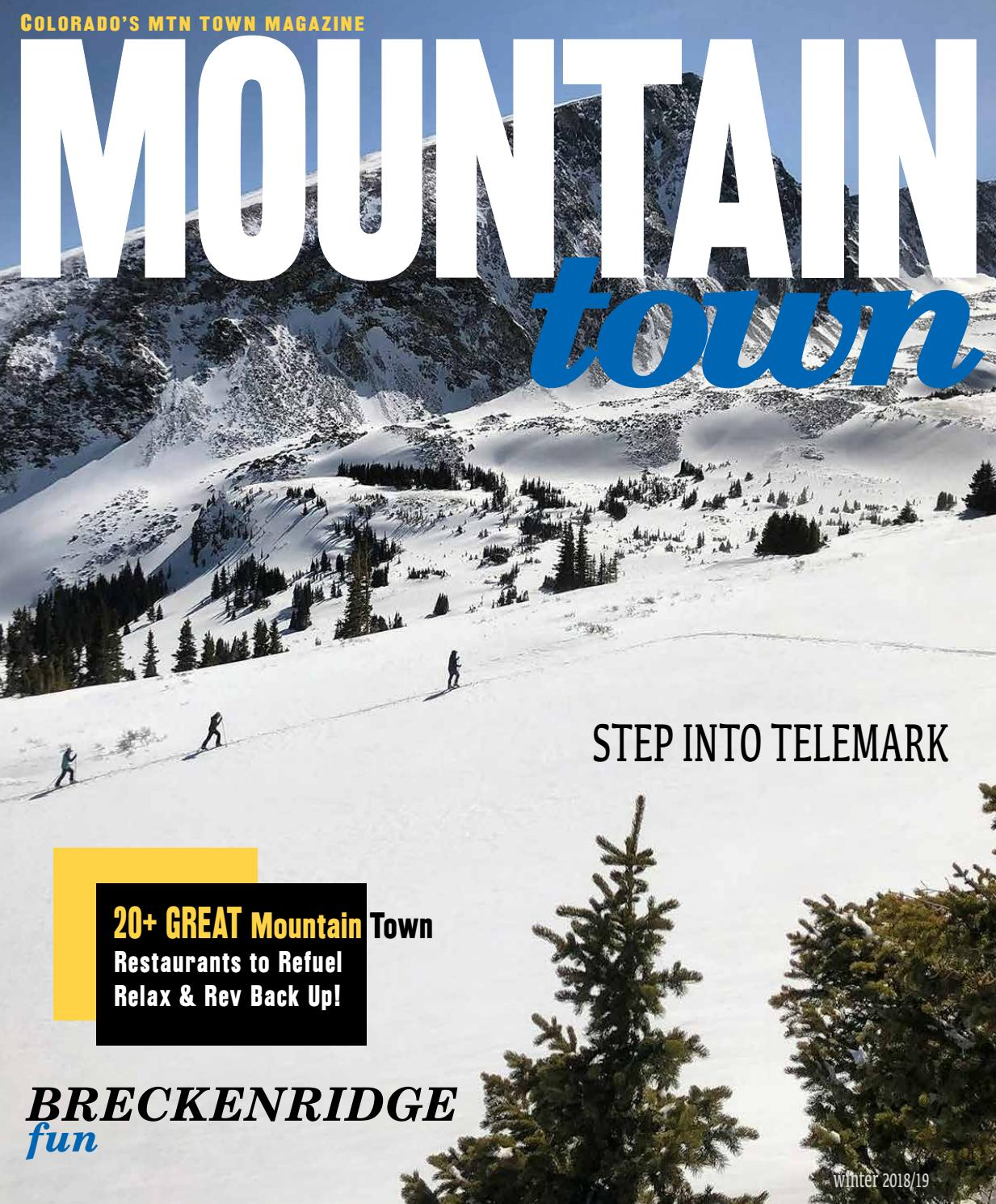 Mountain Town Magazine - Colorado Winter 2018/19 by Mountain