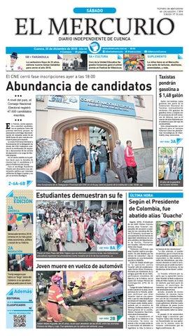 7af889faba28 Hemeroteca-22-12-2018 by Diario El Mercurio Cuenca - issuu