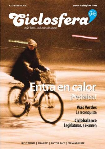 Ciclosfera  27  invierno de 2018 by Revista Ciclosfera - issuu 1a54dfd43e4