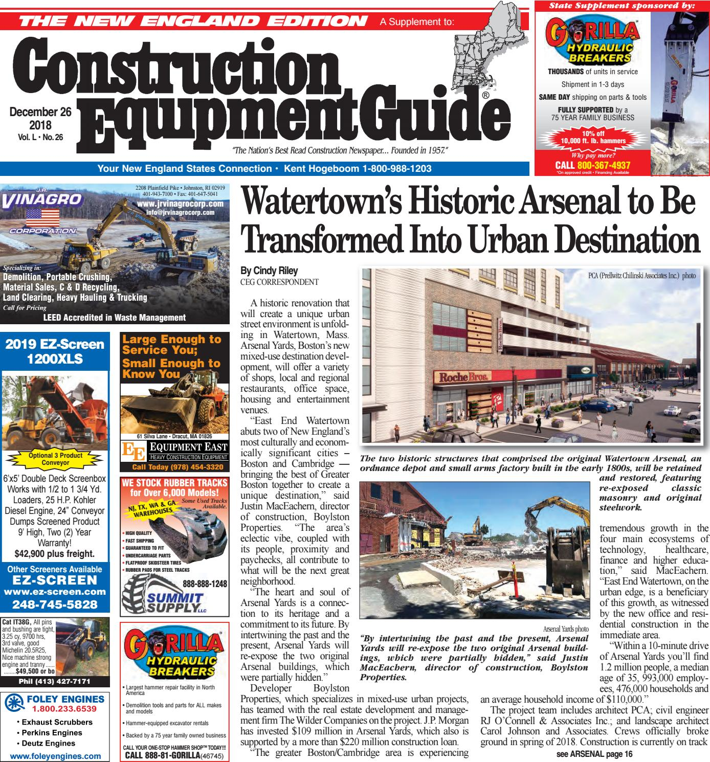 New England 26 December 26, 2018 by Construction Equipment Guide - issuu