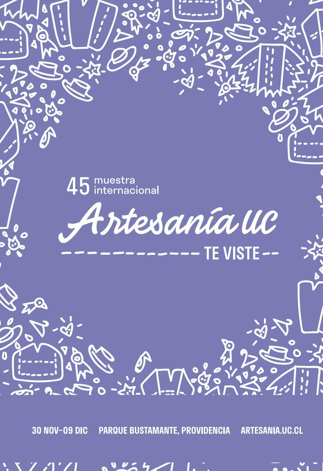 05dfba2581e7 Catálogo 45 Muestra de Artesanía UC by Artesanía UC - issuu