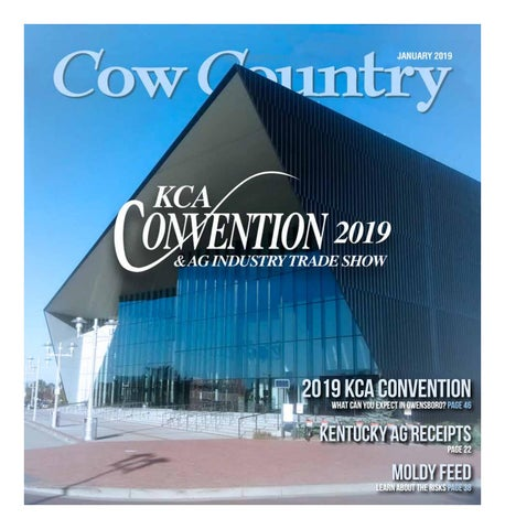 Cow Country News January 2019 by The Kentucky Cattlemen's
