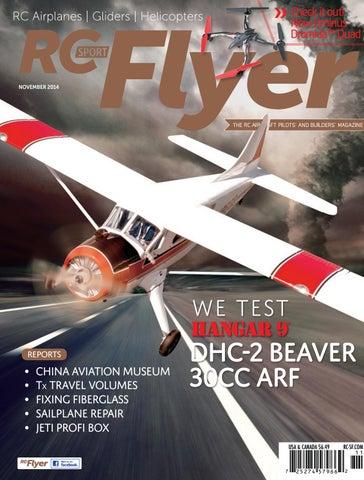 RC Sport Flyer Nov 2014 (Vol 19-11) by RC Flyer News - issuu