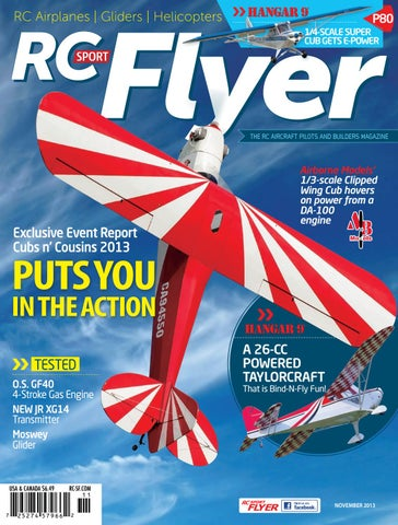 RC Sport Flyer Nov 2013 (Vol 18-11) by RC Flyer News - issuu