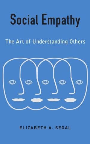 Social Empathy By Elizabeth A Segal Preface By Columbia