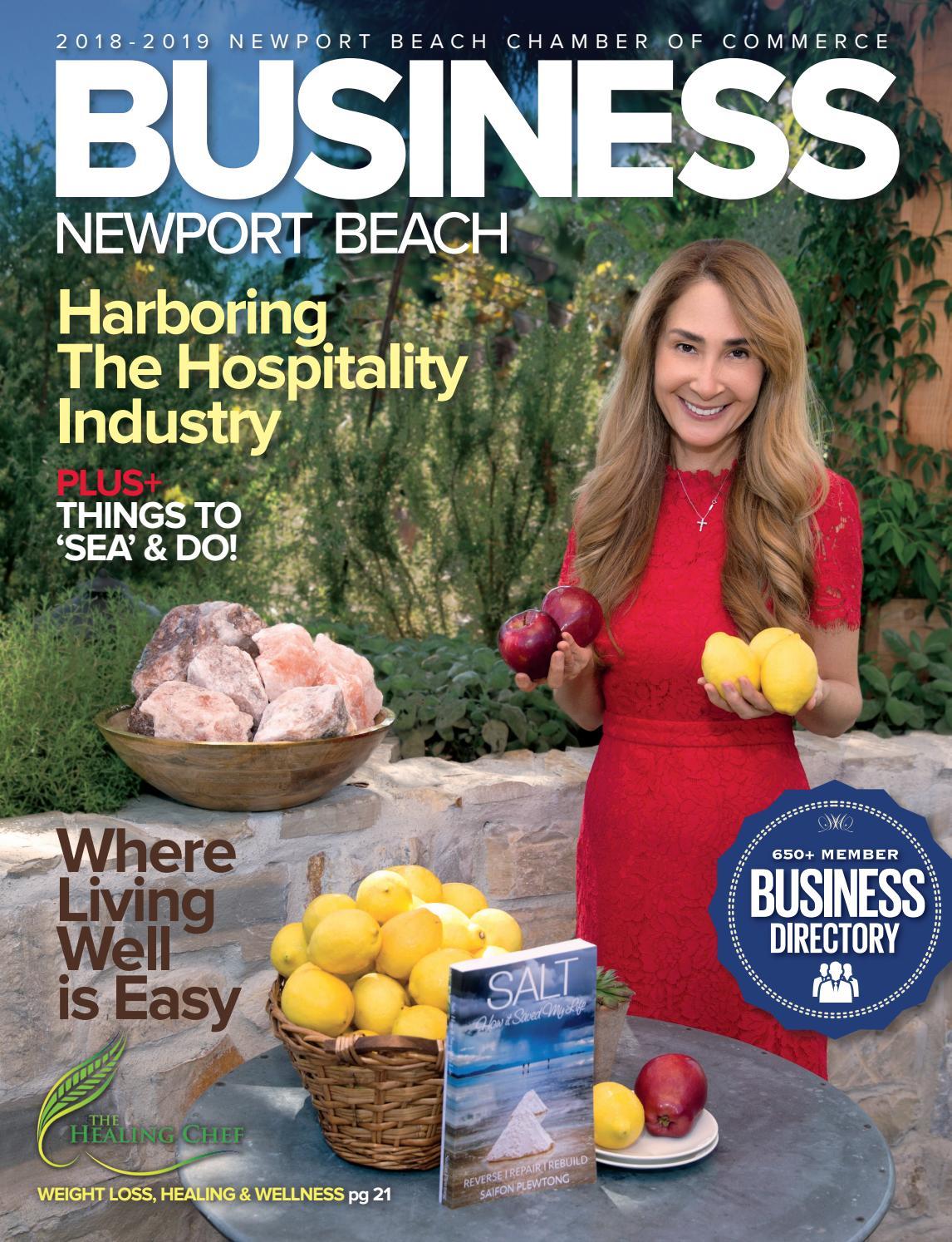 Business Newport Beach 2018-2019 by Chamber Marketing