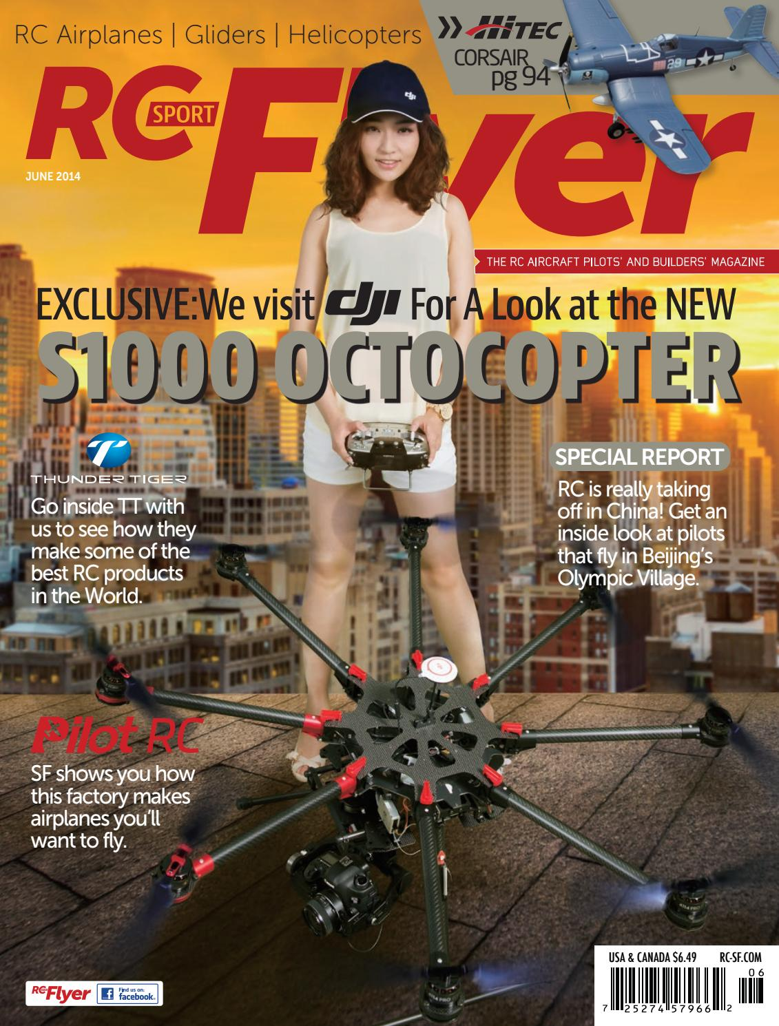 RC Sport Flyer June 2014 (Vol 19-06) by RC Flyer News - issuu