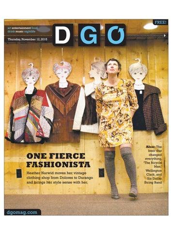 ae8a7cb1da2 One Fierce Fashionista. Heather Narwid moves her vintage clothing ...