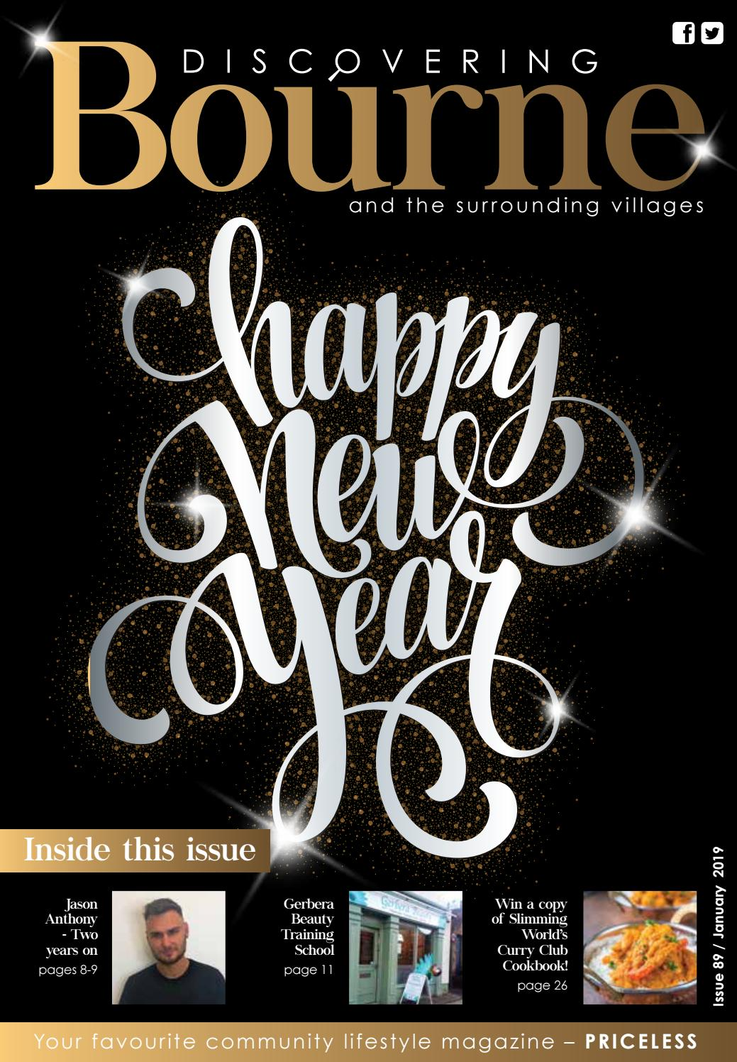 Discovering Bourne Issue 089 January 2019 By Discovering