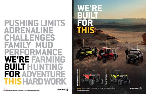 2019 Can-Am PAC Maverick Sport and Trail by Triple 888 Studios - issuu