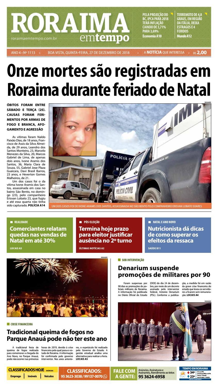 6f6553696 Jornal Roraima em tempo – edição 1113 by RoraimaEmTempo - issuu