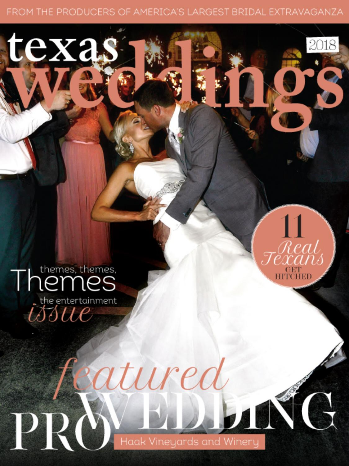 Haak Vineyards And Winery On Texas Weddings By Bridal Extravaganza