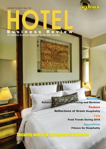 Hotel Business Review (Nov-Dec 2018) by Hammer Publishers
