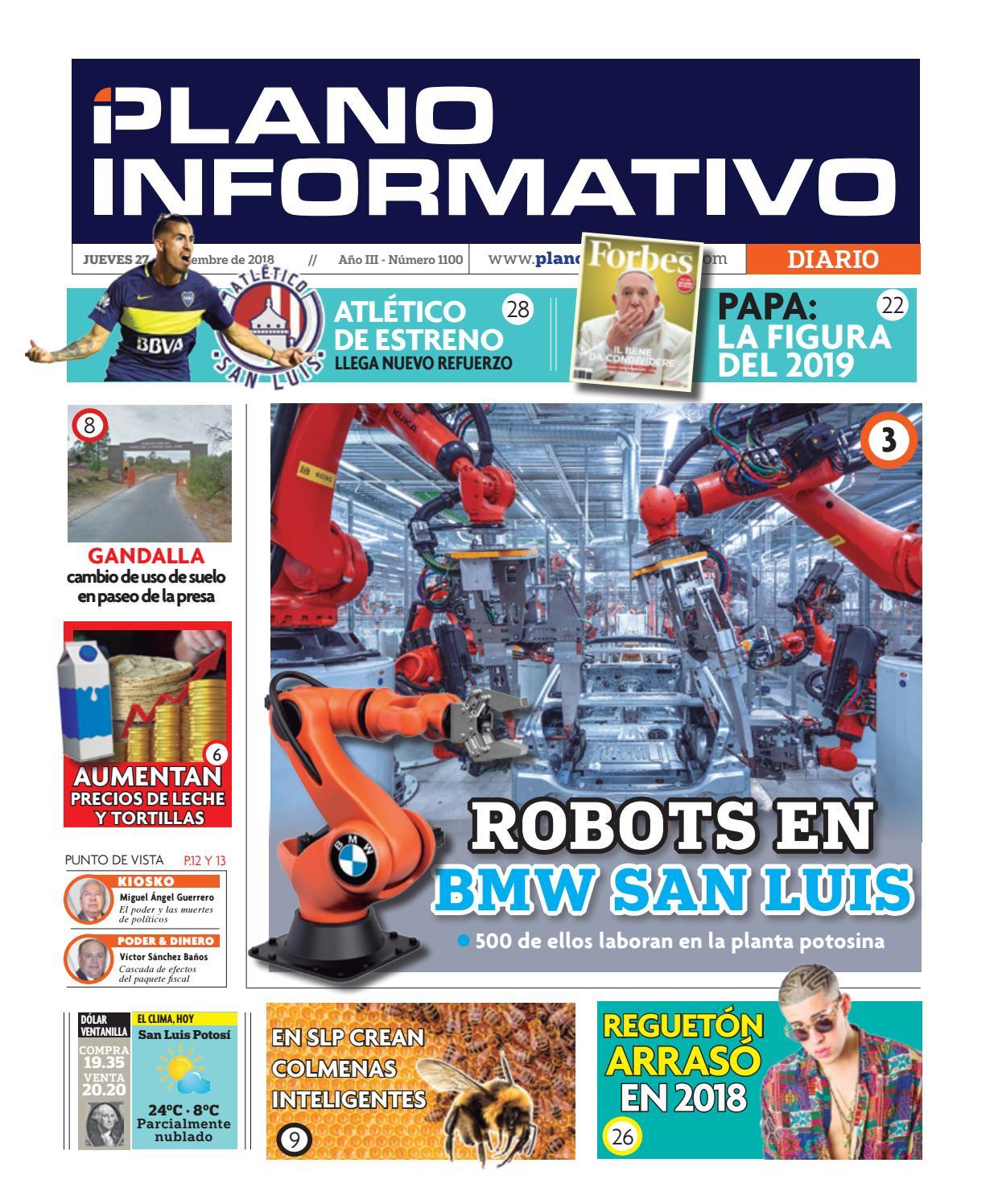 Plano Informativo Impreso Año 3 No. 1100 by Plano Informativo - issuu bb86db4679