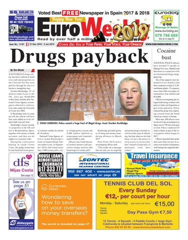 3f455174f4 Euro Weekly News - Costa del Sol 27 December 2018 - 2 January 2019 ...