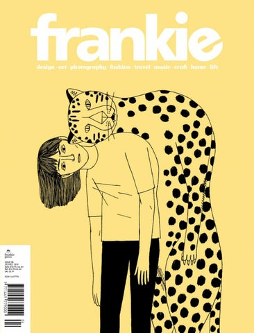 2018 september/october frankie magazine by Frankie Tjoeng