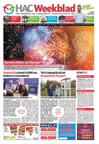 HAC Weekblad week 52 2018 NL by HAC Weekblad