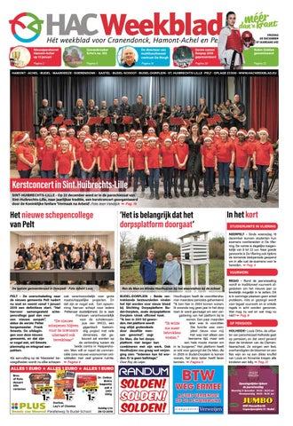 HAC Weekblad week 52 2018 BE by HAC Weekblad issuu