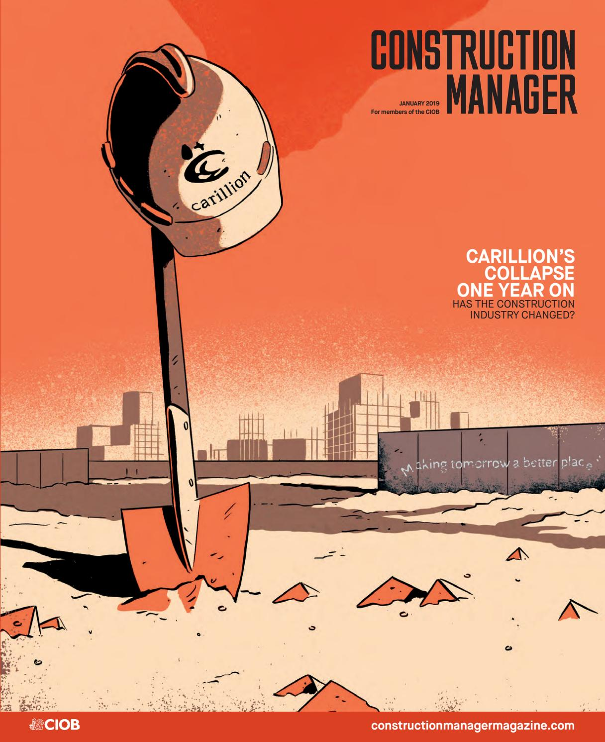 Construction Manager January 2019 by Construction Manager