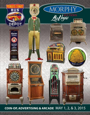f168fcf003c 2015 May 1-3 Coin-Op, Advertising, & Arcade by Morphy Auctions - issuu