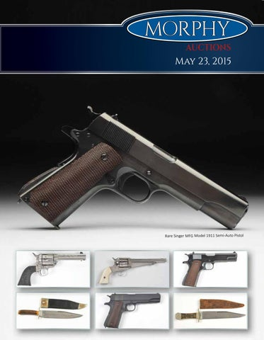 2015 May 23 Firearms by Morphy Auctions - issuu