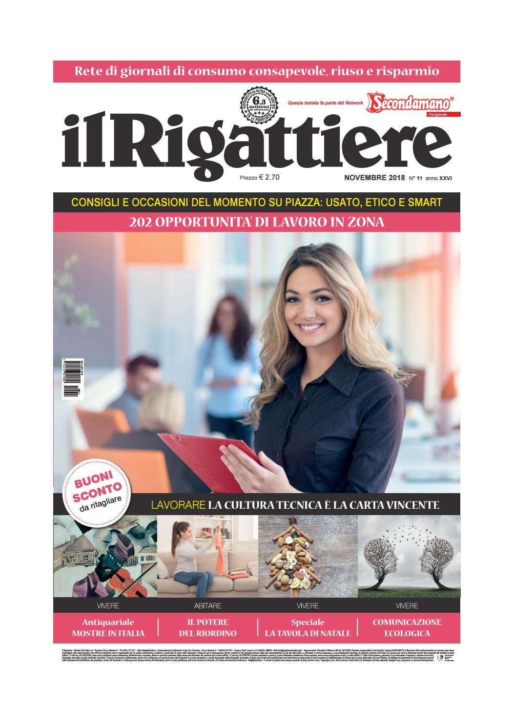 the latest 877d7 6e0fb IL RIGATTIERE novembre 2018 by Edit Italia S.r.l. - issuu