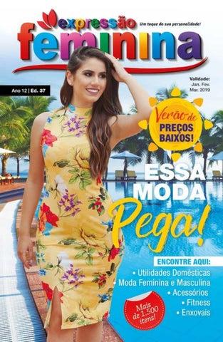 6a40b7be0 Expressão Feminina 37 by Novo Lar Catálogos - issuu