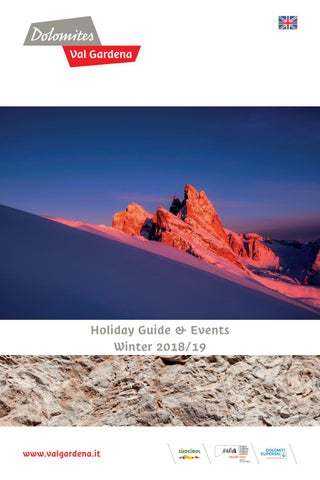 Holyday Guide & Events Winter 201819 by DOLOMITES VAL