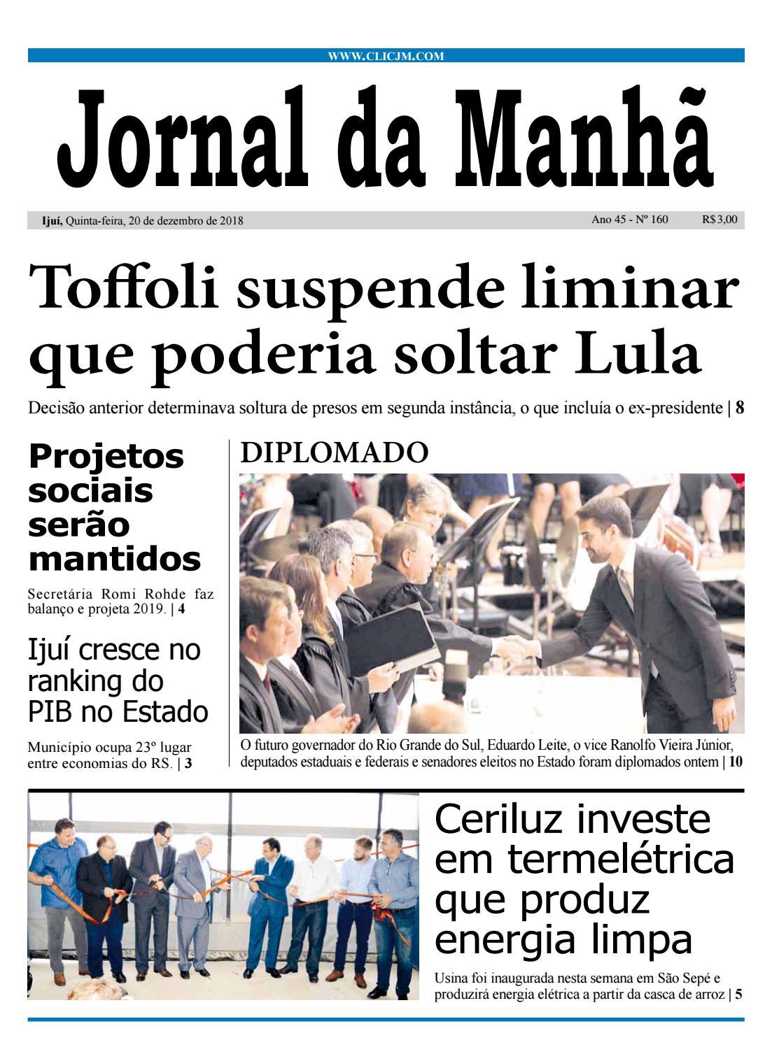 fae4000f7a6 Jornal da Manhã - Quinta-feira - 20-12-2018 by clicjm - issuu