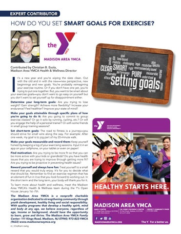 Page 6 of How Do You Set Smart Goals for Exercise?