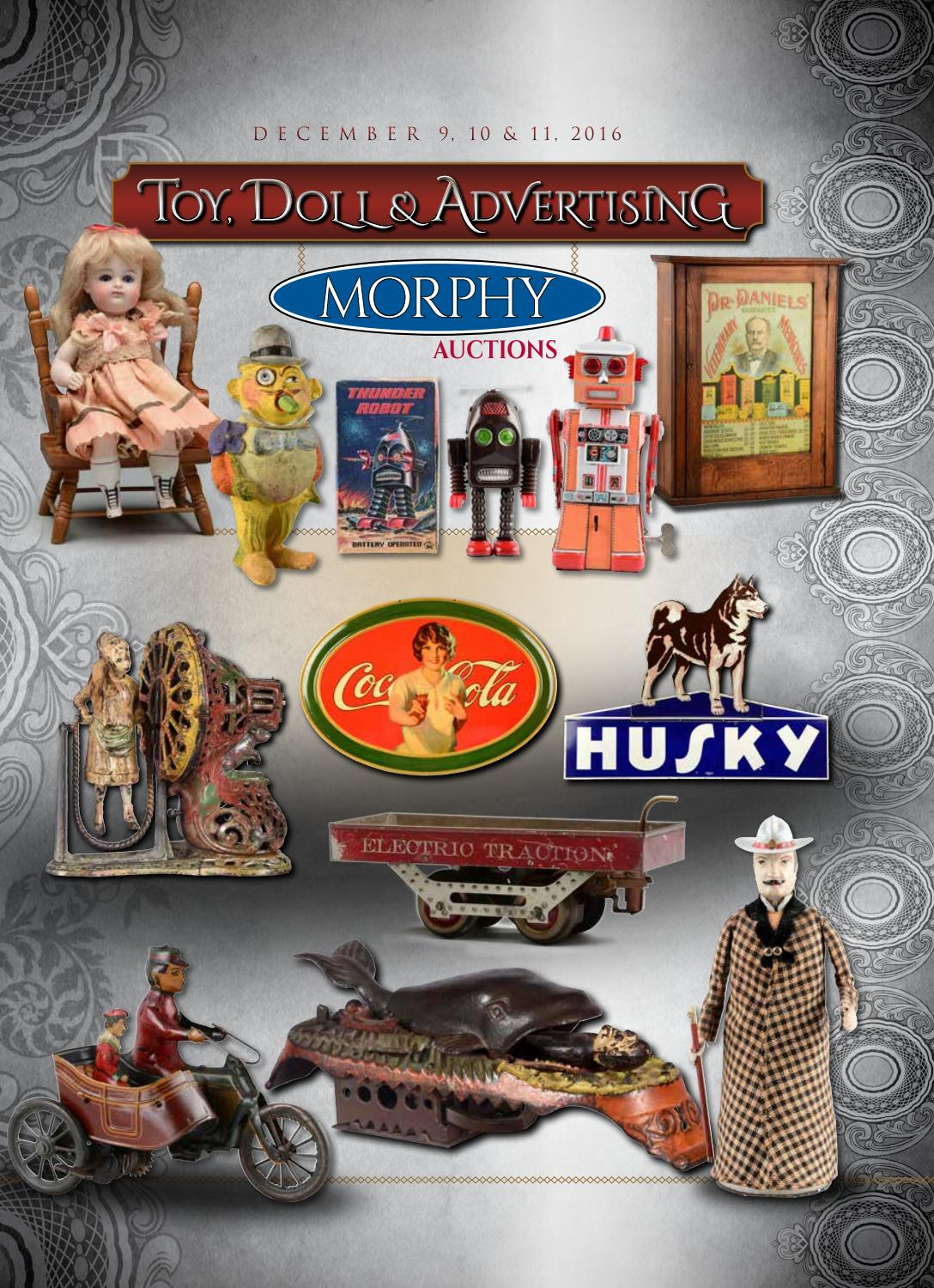 2016 december 9 11 toy, doll, \u0026 advertising by morphy auctions issuuLe Specs Halfmoon Magie Schwarz P 794 #18