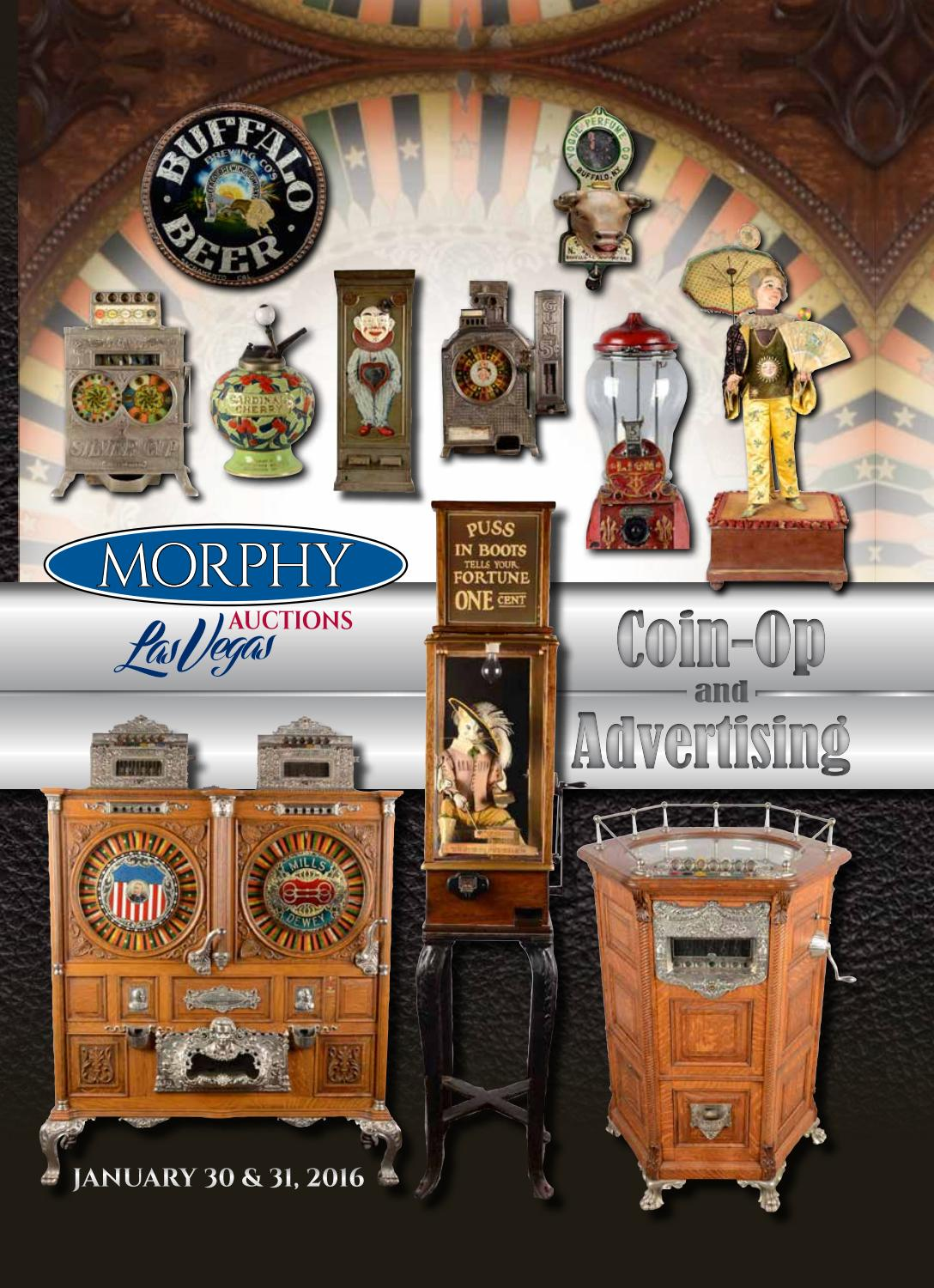 2016 January 30-31 Coin-Op & Advertising by Morphy Auctions