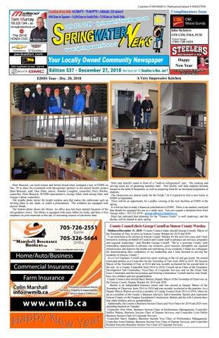 Springwater News By Springwater News Issuu