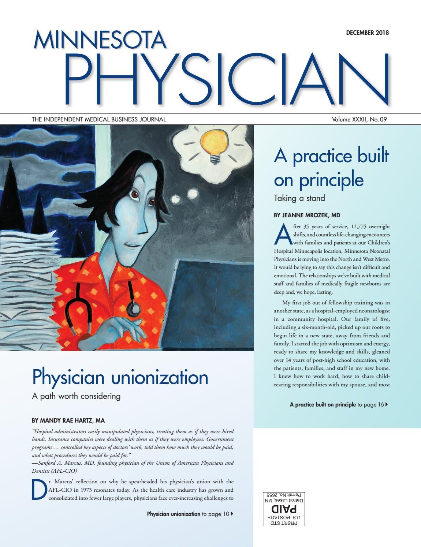 Minnesota Physician December 2018 by Minnesota Physician Publishing