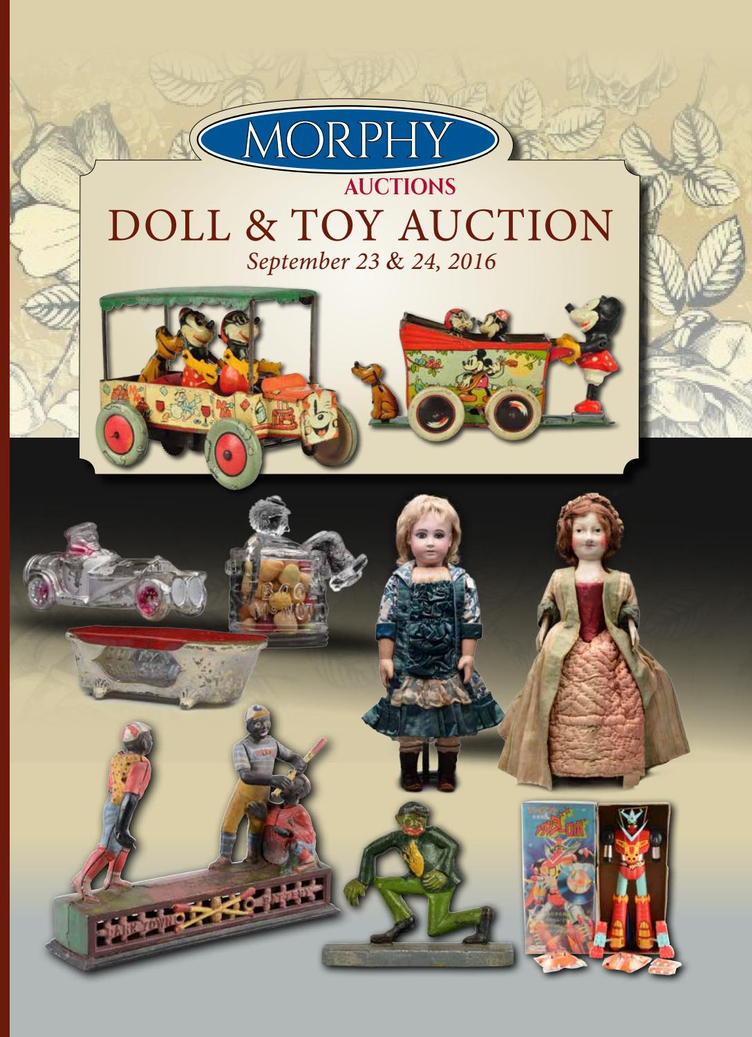 960d07ee9 2016 September 23-24 Dolls & Toys by Morphy Auctions - issuu