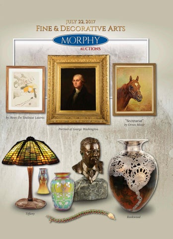4b5baf1f9 2017 July 22 Fine & Decorative Arts by Morphy Auctions - issuu