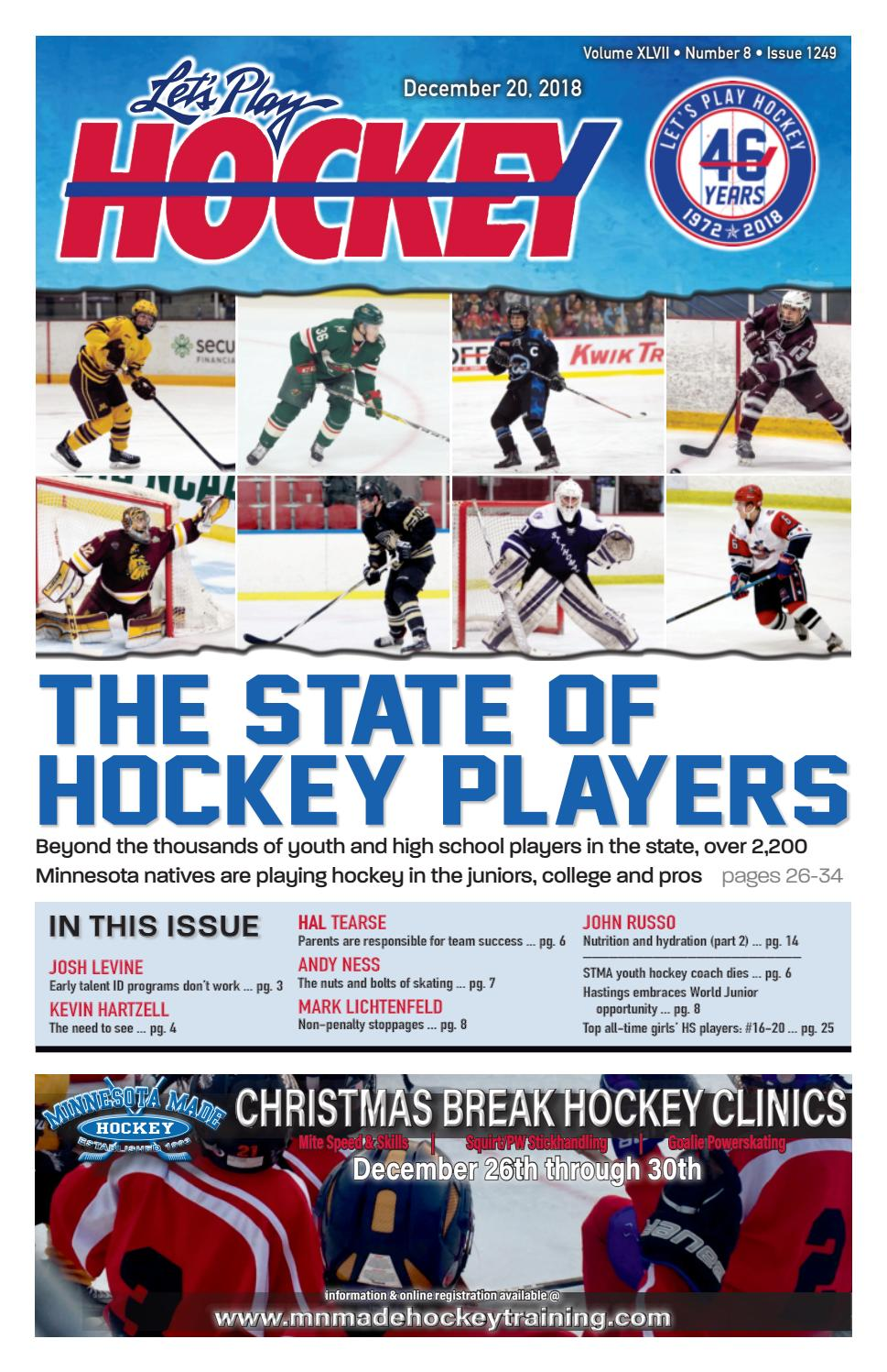 The State of Hockey Players by Let s Play Hockey - issuu 246470d24